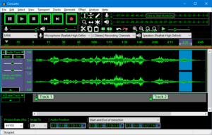 audacity, phần mềm thu âm, phần mềm chỉnh nhạc