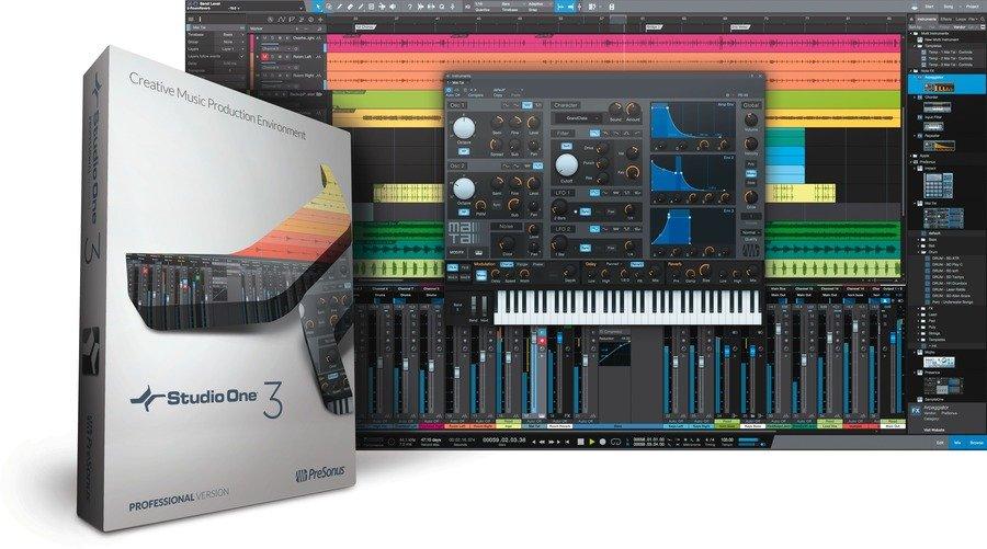 Presonus Studio One Free, phần mềm thu âm, phần mềm chỉnh nhạc