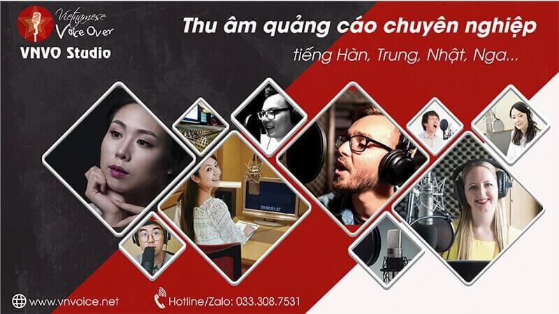 thu âm tiếng Trung