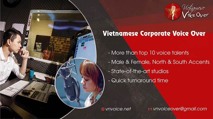 voice over Vietnamese