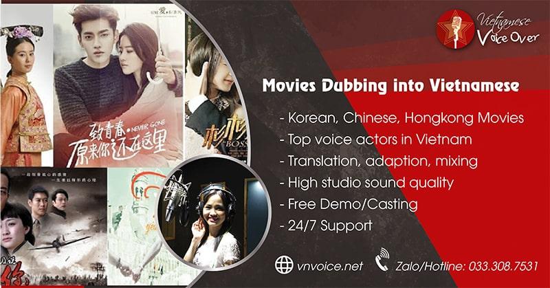 movie dubbing Vietnamese